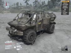 BTR GAZ Mod for MudRunner