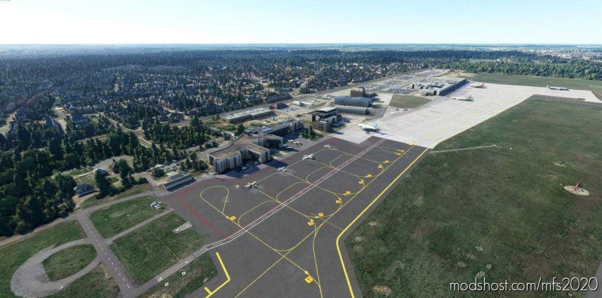 Poznań Ławica Airport Eppo For FS2020 for Microsoft Flight Simulator 2020