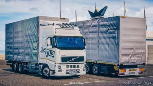 Volvo FH13 460 ES BDF Tandem Truck [1.38] for Euro Truck Simulator 2