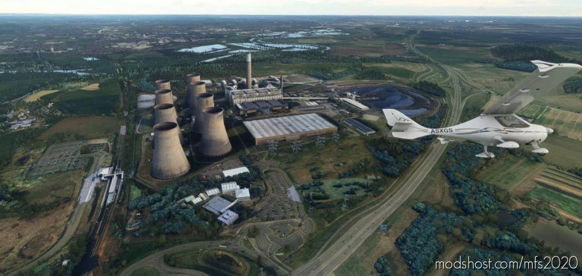 Ratcliffe Power Station V2.0 for Microsoft Flight Simulator 2020