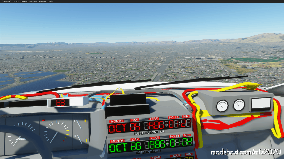 Delorean Aircraft (Updated) for Microsoft Flight Simulator 2020