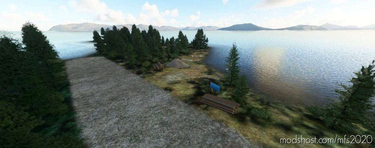 Viekoda BAY, Kodiak Island Alaska for Microsoft Flight Simulator 2020