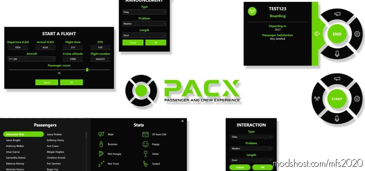 Pacx Safety Anouncements / Boarding Soundpack V0.5.1 for Microsoft Flight Simulator 2020