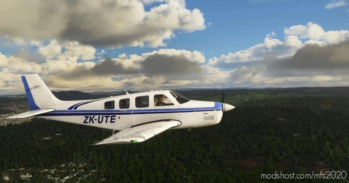 Beechcraft G36 Bonanza Zk-Ute for Microsoft Flight Simulator 2020