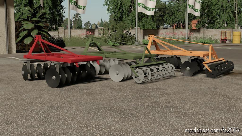 Disc Harrow 1.8M for Farming Simulator 19
