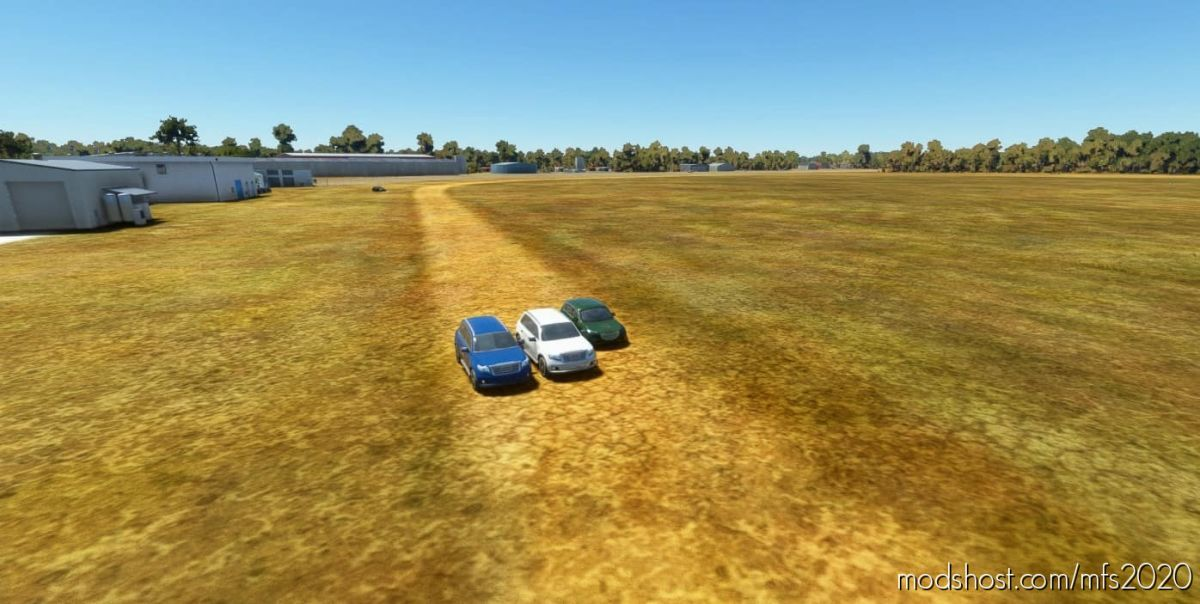 Nanango Airport Scenery Enhancement – Ynan – Hand Built Airport With Custom Models for Microsoft Flight Simulator 2020