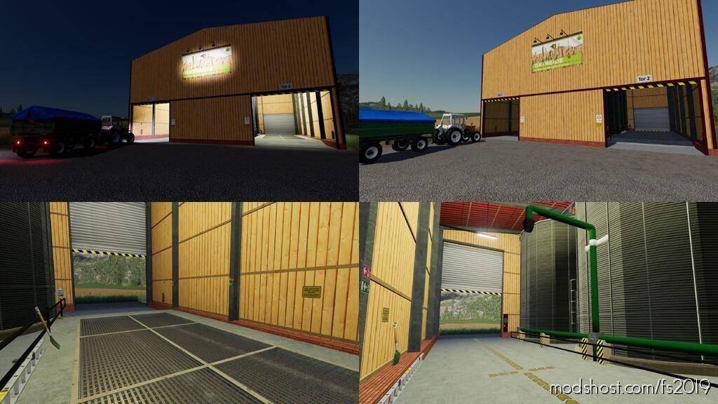 Farm Hall Silo for Farming Simulator 19