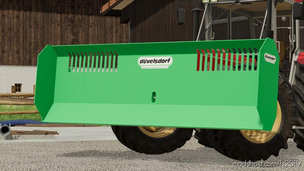 Duvelsdorf MSS 3700 for Farming Simulator 19