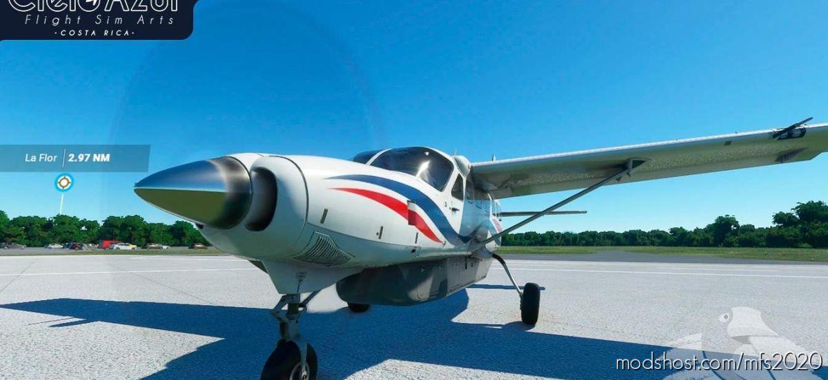Aerobell Airlines | Ti-Bja & Ti-Bjd | Asobo Cessna C208B EX Grand Caravan (8K) V1.2 for Microsoft Flight Simulator 2020