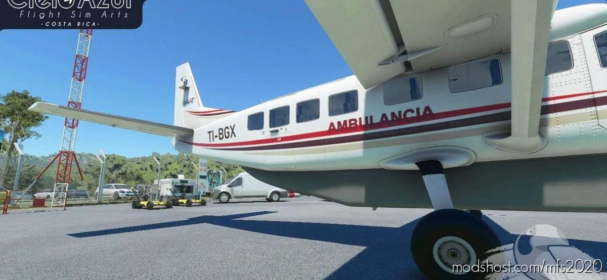 Prestige Wings | Ti-Bgx | Asobo Cessna C208B EX Grand Caravan (8K) V1.2 for Microsoft Flight Simulator 2020
