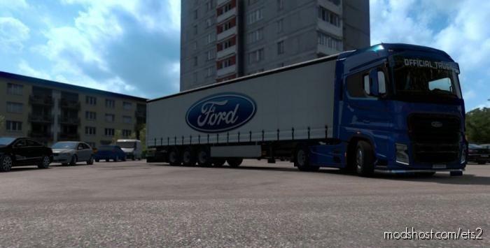 Ford Trailer Skin [1.38] for Euro Truck Simulator 2