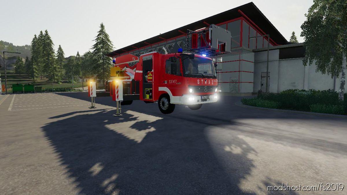 Mercedes Benz SH Polskie Malowanie V4.0 for Farming Simulator 19