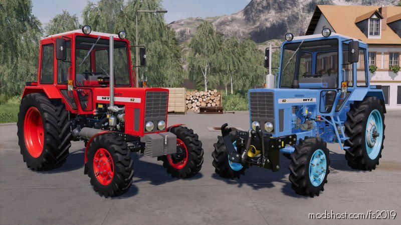 MTZ-82 Export V1.0.0.3 for Farming Simulator 19
