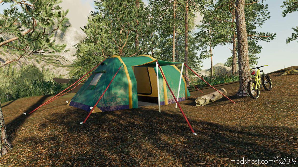 Camping Tent for Farming Simulator 19