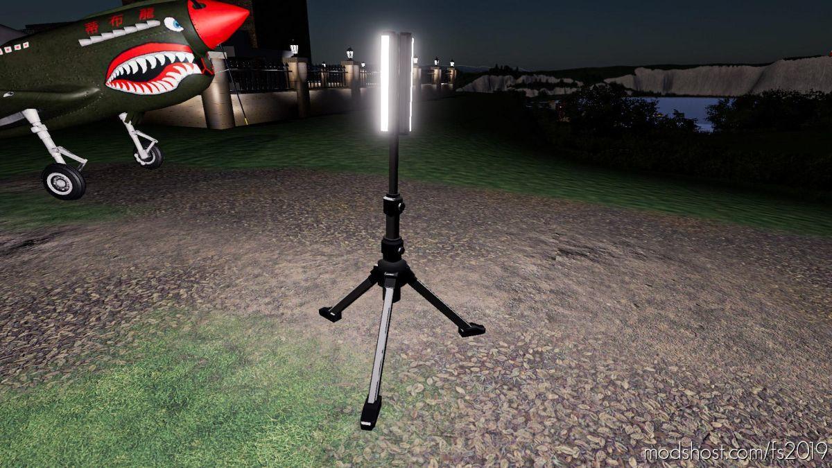 Tripod LED Light for Farming Simulator 19