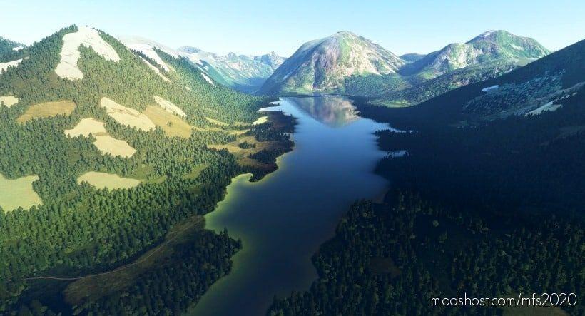 Humpback Lake And Alaska Seafoods Cannery for Microsoft Flight Simulator 2020