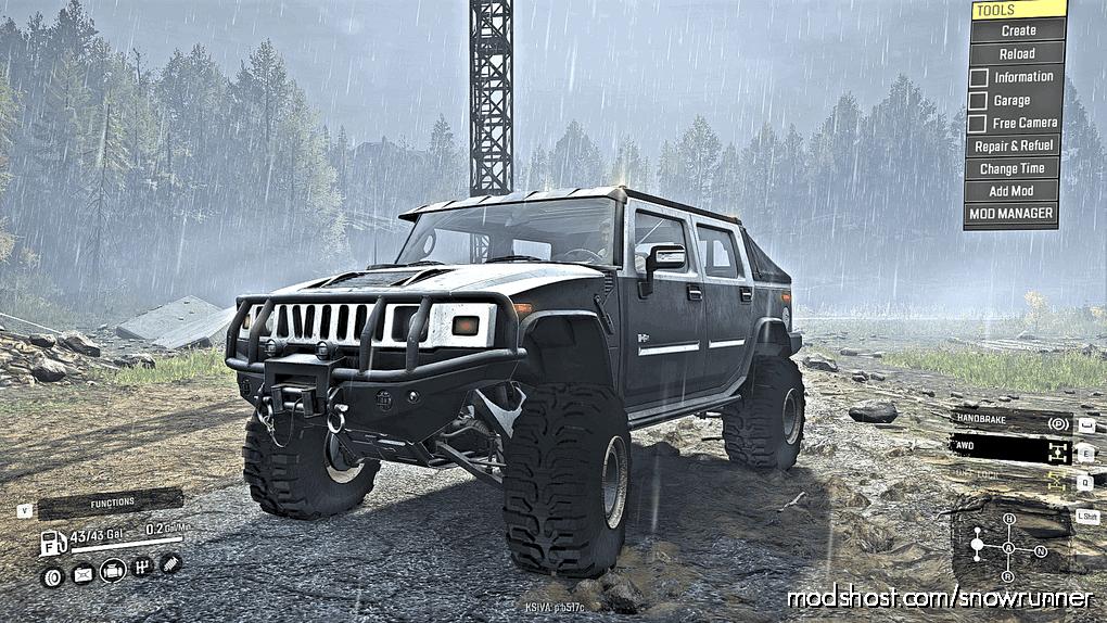Motorsports Scout Pack V1.2 for SnowRunner