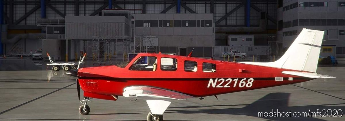 Bonanza G36 N22168 Us-Crimson for Microsoft Flight Simulator 2020