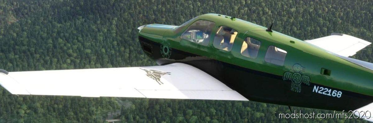 Bonanza G36 N22168 Gb-Shasta for Microsoft Flight Simulator 2020