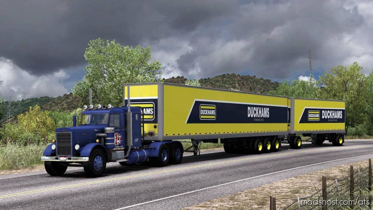 Duckhams Oils Skin Standard Trailers for American Truck Simulator