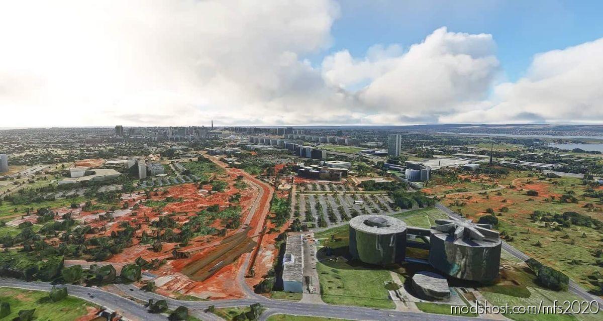 Brasília Megapack – Brazil for Microsoft Flight Simulator 2020
