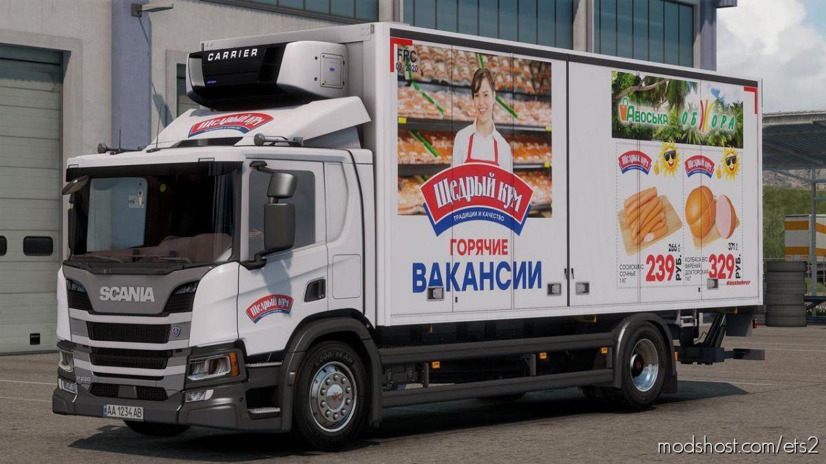 Scania P220 [1.38] for Euro Truck Simulator 2