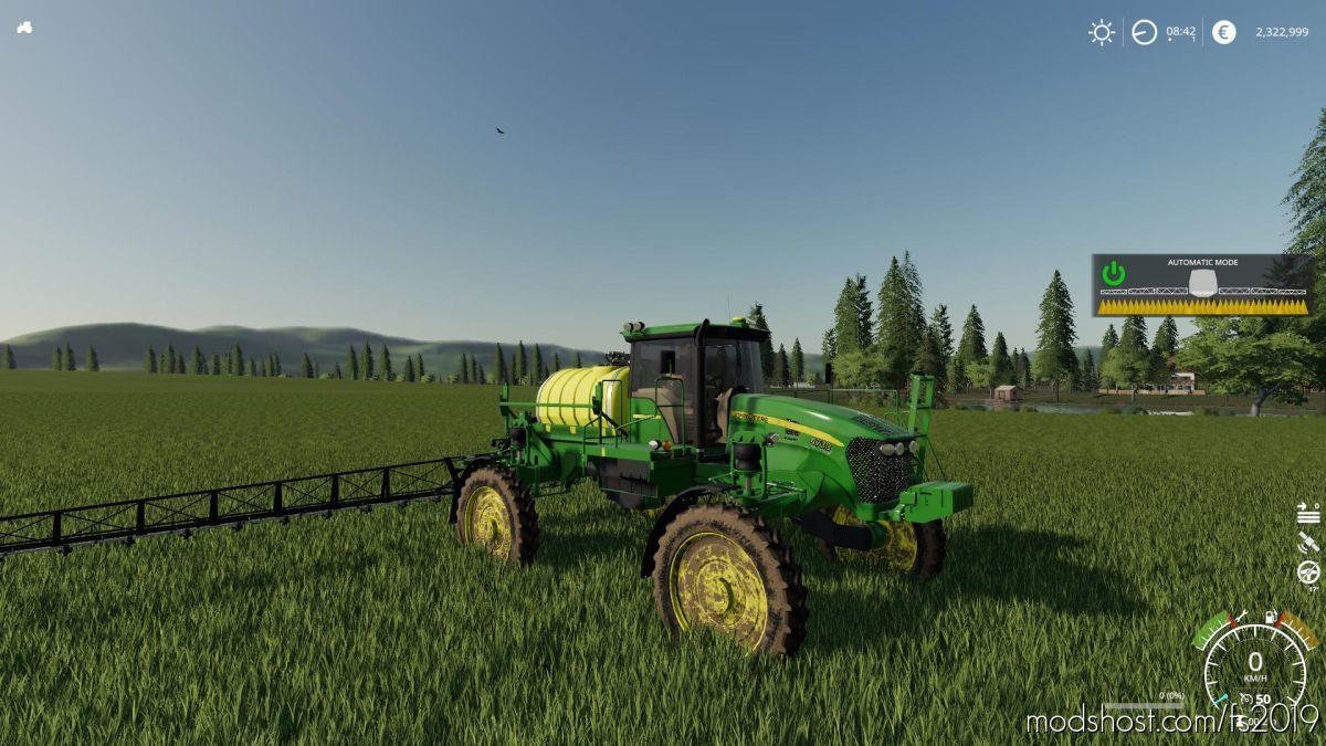 John Deere 4730 Sprayer V2.5 for Farming Simulator 19