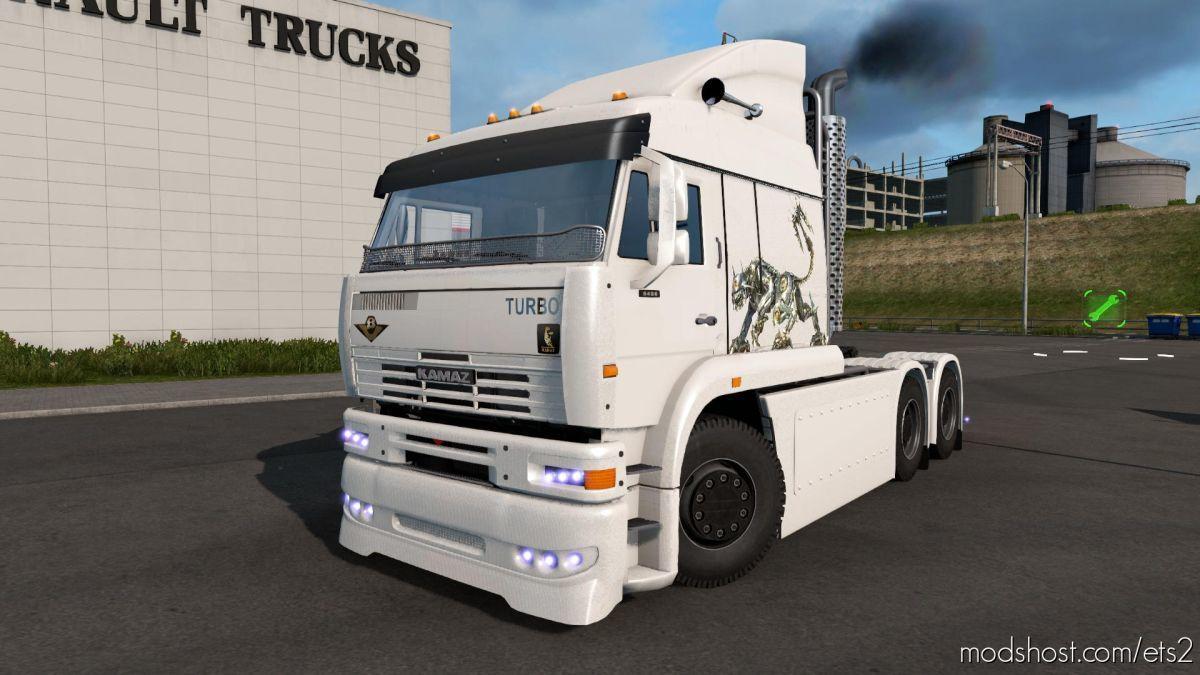 Kamaz 6460 Turbo Diesel V8 V02.11.20 [1.38] for Euro Truck Simulator 2