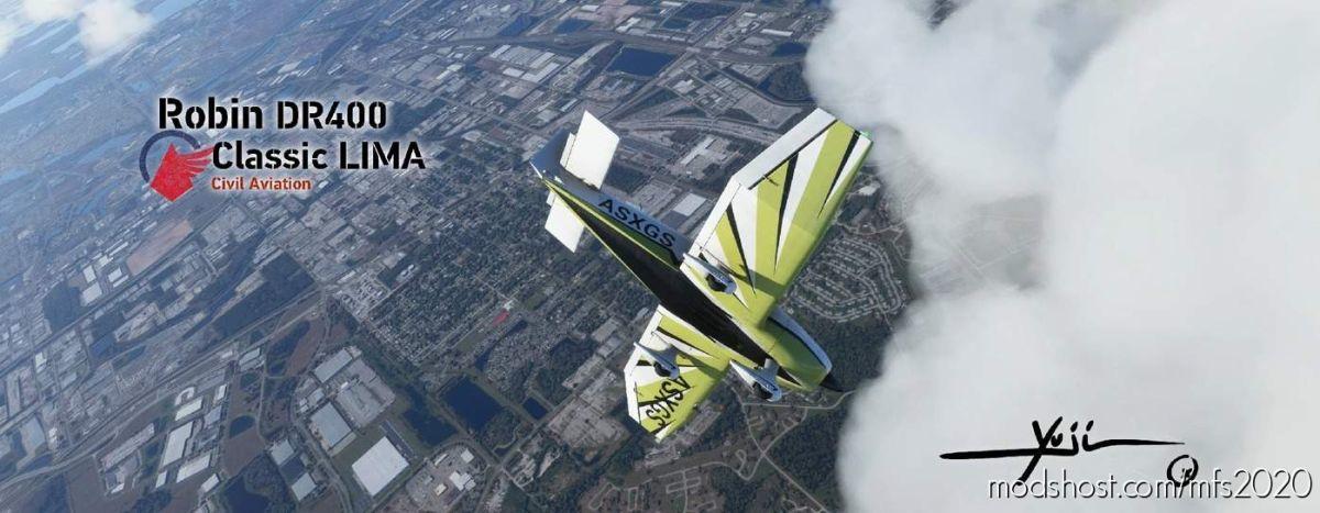 Robin DR400 Classic Lima for Microsoft Flight Simulator 2020