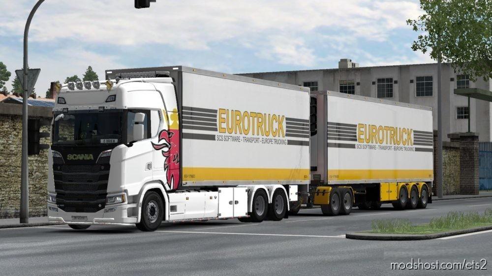 BDF Tandem Truck Pack V139.00 [1.39] for Euro Truck Simulator 2