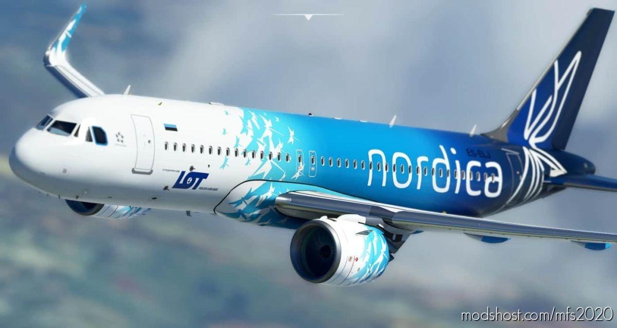 "PLL ""LOT"" / Nordica [Patch 5] for Microsoft Flight Simulator 2020"