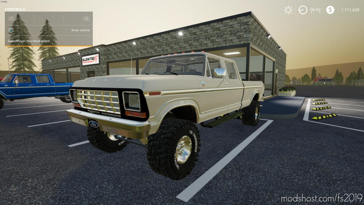 Ford Crew CAB Classic for Farming Simulator 19