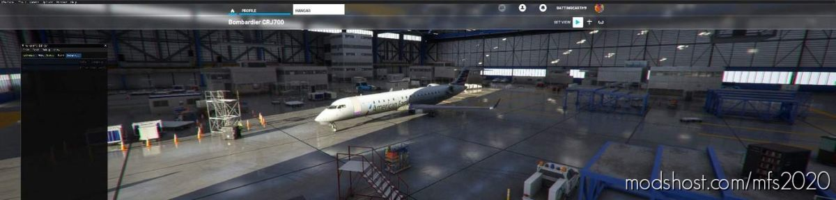 American Eagle CRJ-700 V2.0 for Microsoft Flight Simulator 2020