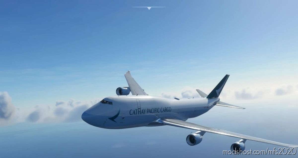 B747-8F Cathay Pacific Cargo [8K] for Microsoft Flight Simulator 2020