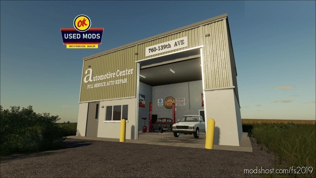 Automotive Center – Local Garage With Workshop for Farming Simulator 19