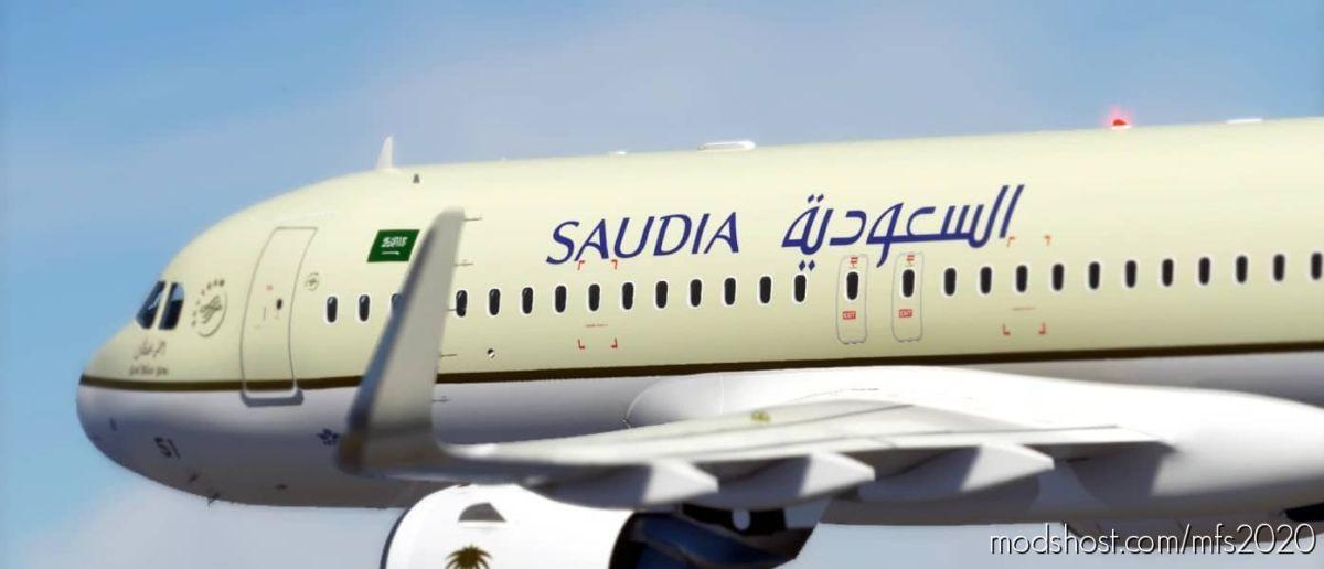 Saudia [Patch 5] for Microsoft Flight Simulator 2020