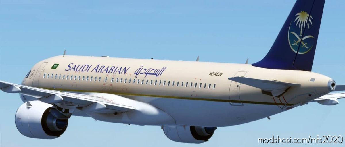 Saudi Arabian [Patch 5] for Microsoft Flight Simulator 2020