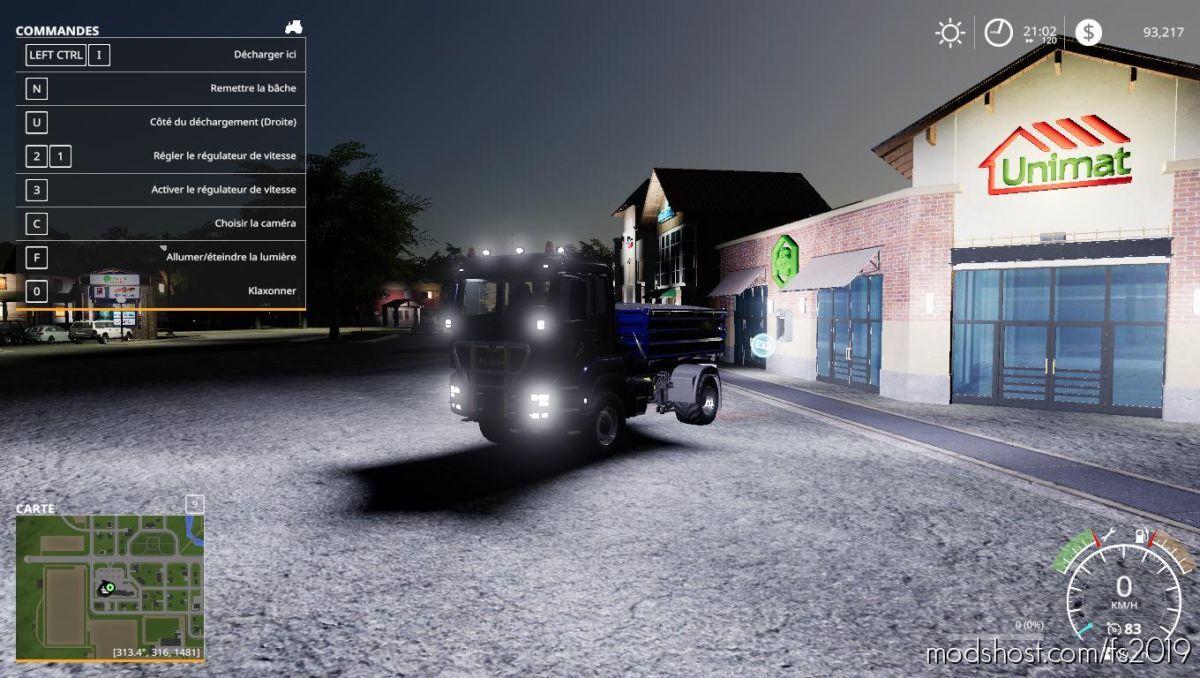 MAN TGS18500 Tipper for Farming Simulator 19
