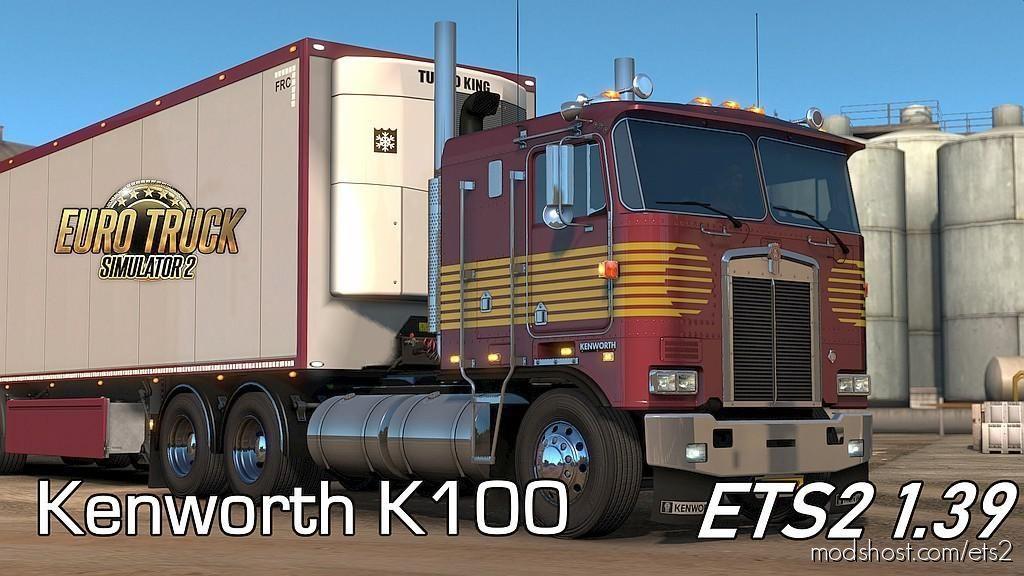 Kenworth K100 [1.39] for Euro Truck Simulator 2