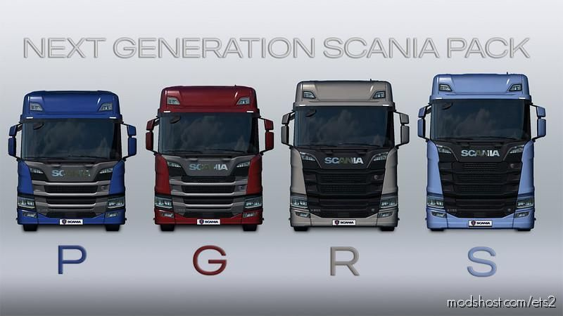Next Generation Scania P G R S V2.3 [1.39] for Euro Truck Simulator 2