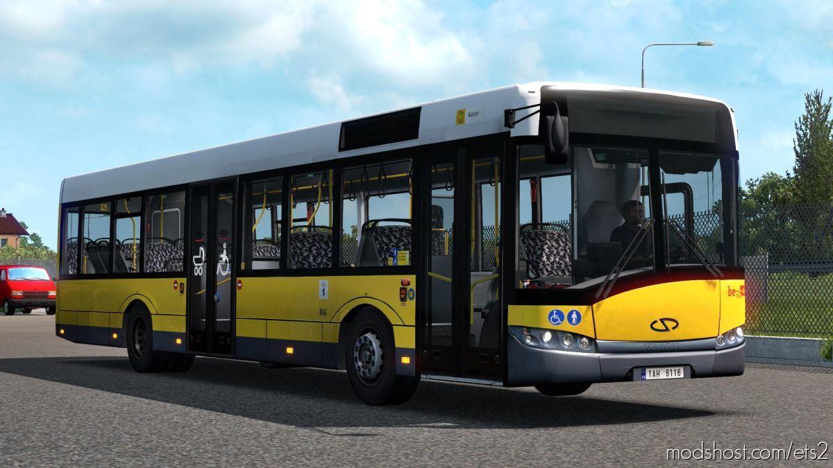 Solaris Urbino III 12 BVG [1.39] for Euro Truck Simulator 2