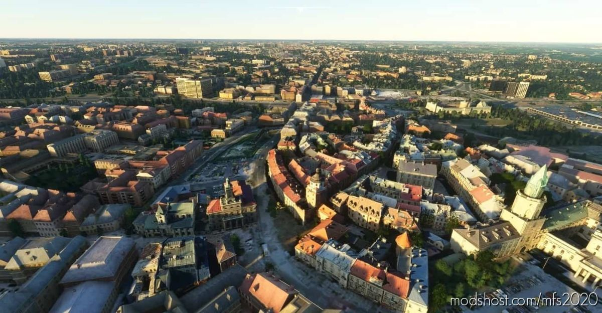 Lublin City 1.91 POI V1.91 for Microsoft Flight Simulator 2020
