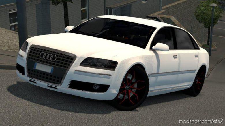Audi A8 By Diablo [1.38] for Euro Truck Simulator 2