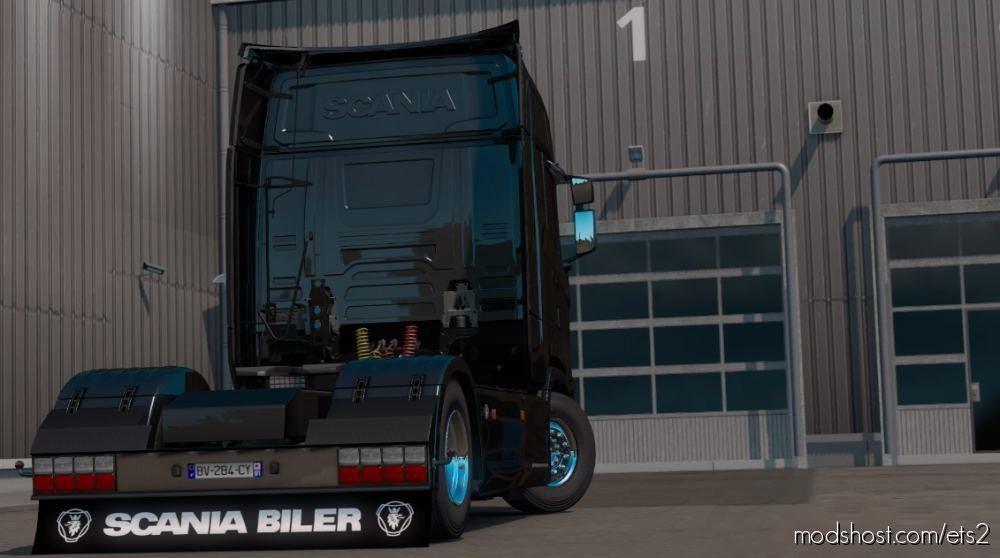 Mudflap Scania Pack [1.39.X] for Euro Truck Simulator 2