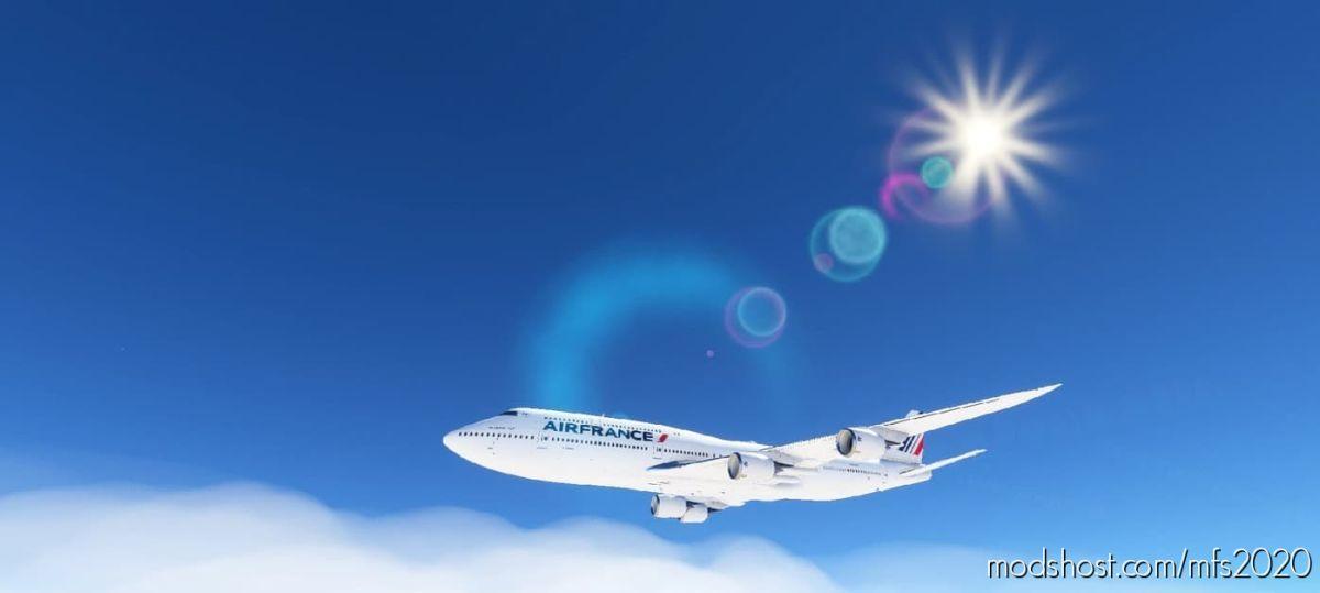 Boeing 747-8I AIR France (F-AF747) for Microsoft Flight Simulator 2020