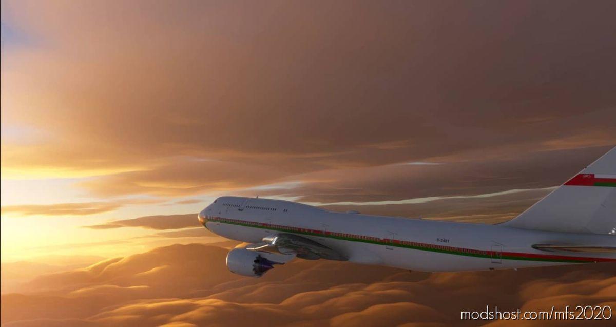 Royal Oman Flight B747-8 for Microsoft Flight Simulator 2020