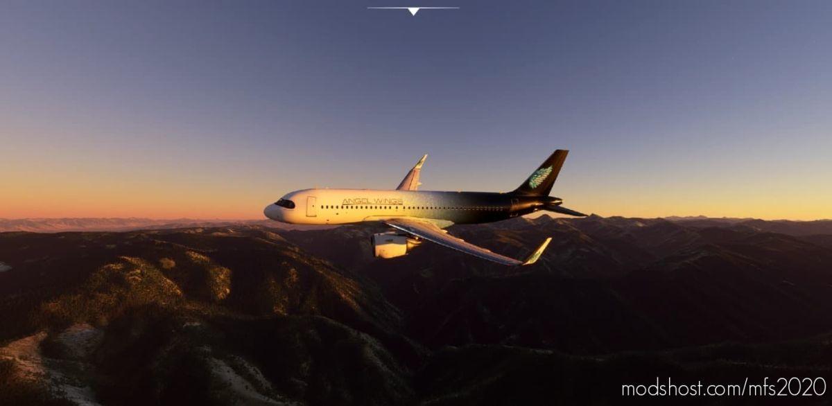 A320 – Angel Wings [Version 1.10.7.0] for Microsoft Flight Simulator 2020