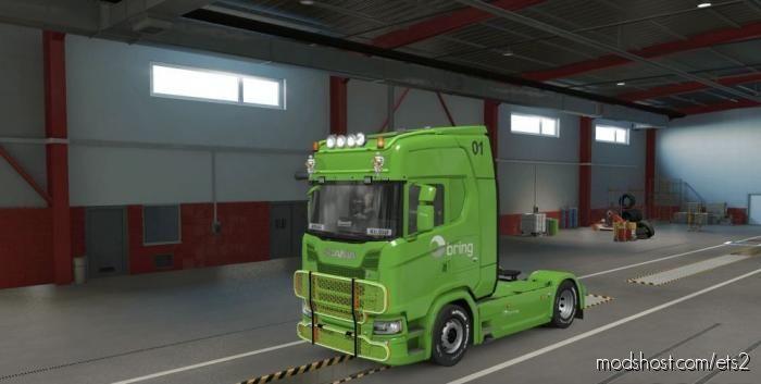 Skin Scania S Bring V1.39 for Euro Truck Simulator 2