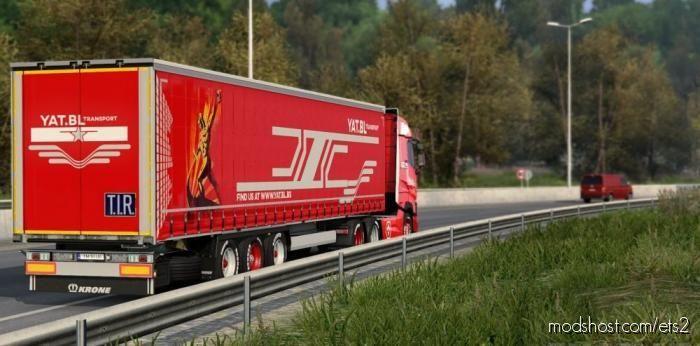 Yat.bl – Renault T And Krone Profiliner Skin [1.39] for Euro Truck Simulator 2