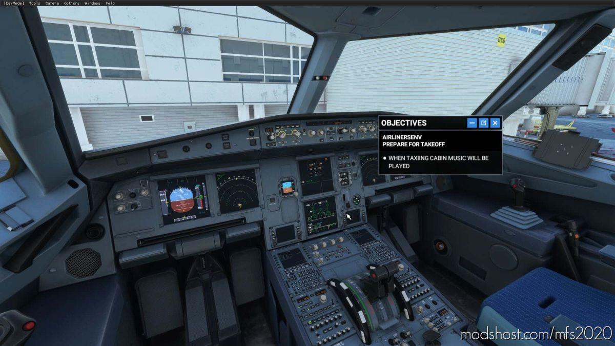 Airlinersenv for Microsoft Flight Simulator 2020